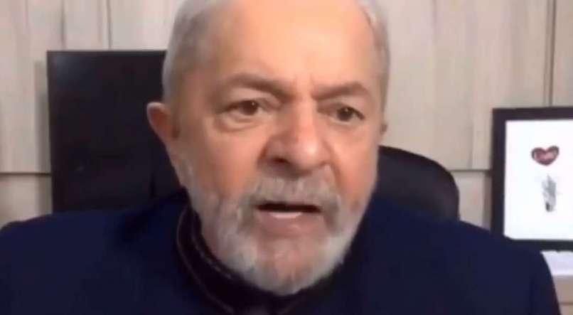 'Ainda bem que a natureza criou esse monstro chamado coronavírus', afirma Lula