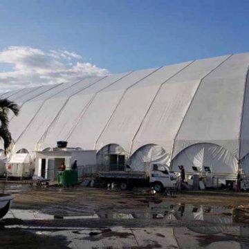 Hospital de campanha do Parque dos Atletas é inaugurado com 80 dos 200 leitos previstos