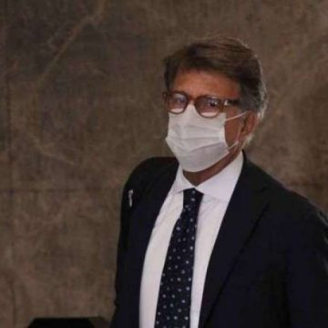 Paulo Marinho chega para prestar novo depoimento na PF do Rio nesta terça-feira