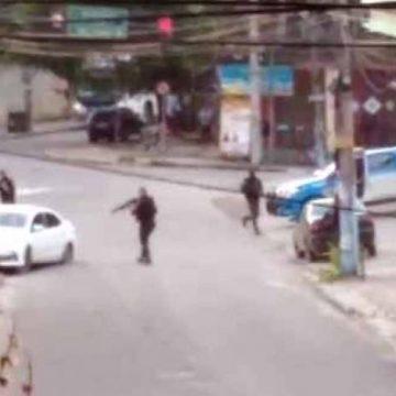 Vídeo: cinco suspeitos morrem em confronto com a PM em São Gonçalo