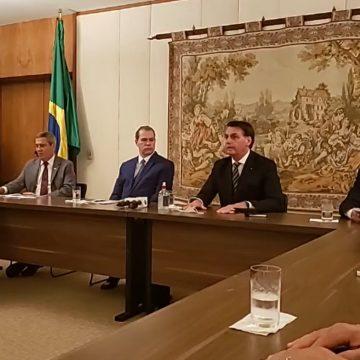 'Economia também é vida', diz Bolsonaro em reunião com empresários no STF