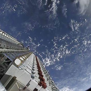 Luzes no céu brasileiro não são extraterrestres e sim satélites da SpaceX
