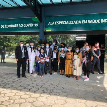 Amazonas inaugura ala de hospital exclusiva para tratar indígenas com Covid-19