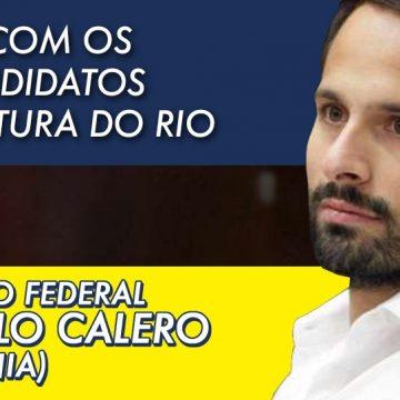 Crivella não executa  emendas que não sejam de seus aliados, afirma Marcelo Calero, pré-candidato a prefeito do Rio