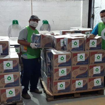 Famílias em situação de vulnerabilidade das comunidades de Mangueira e Guararapes recebem 700 cestas básicas doadas pelo Grupo Cataratas
