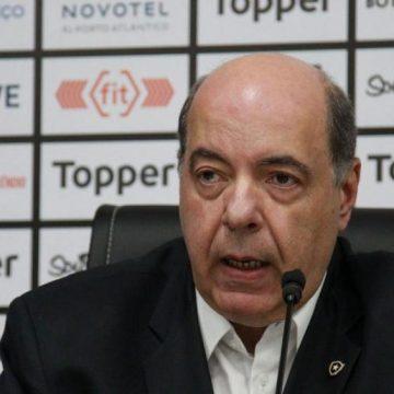 """Botafogo perde cerca de 400 sócios durante pandemia e vê """"associado compreensivo com momento"""""""