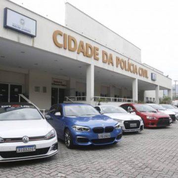 Operação apreende carros de luxo avaliados em R$ 5 milhões usados em rachas