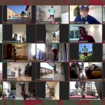 Fluminense transmitirá treino virtual dos atletas em live nesta quinta-feira