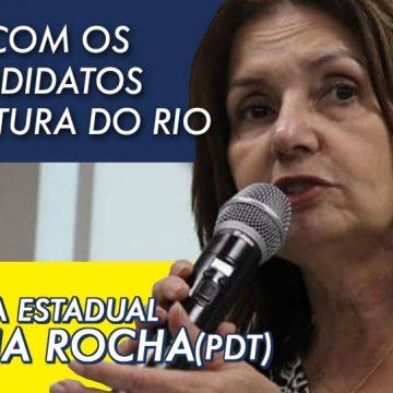 'Crivella não está preocupado com o cidadão carioca', afirma deputada Martha Rocha, pré-candidata a prefeita do Rio