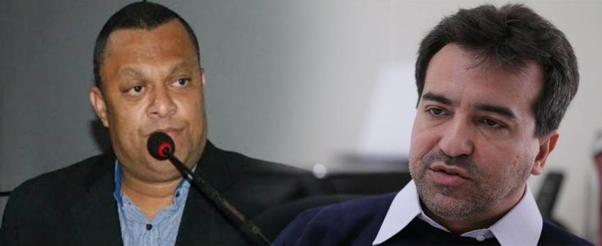 Em áudio vazado, vereador Marcelo Biriba incita prática de crime contra o prefeito de Mesquita Jorge Miranda
