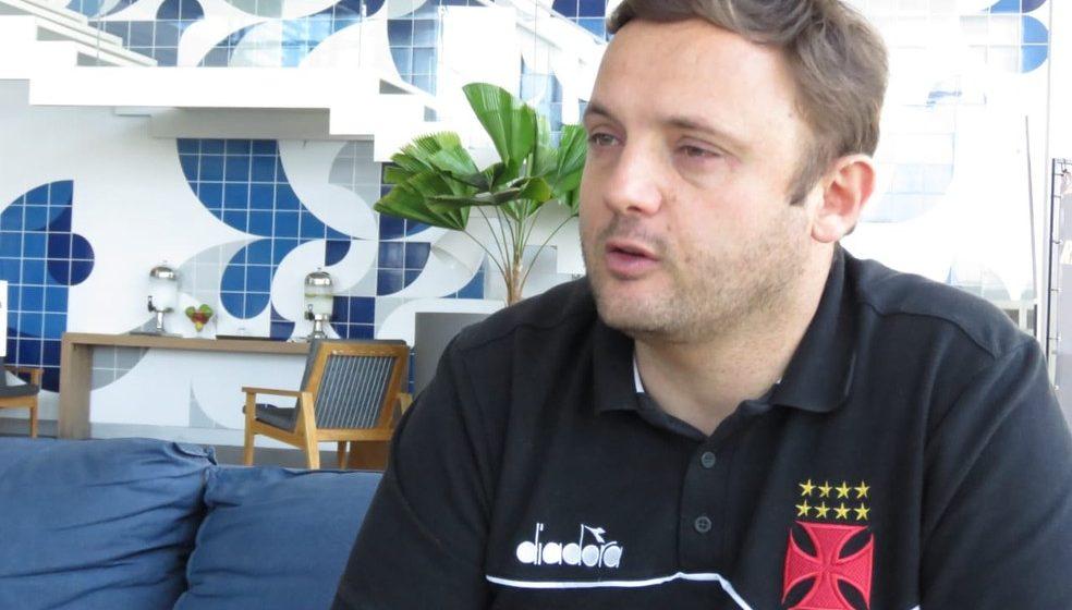 Com renovação encaminhada, Mazzuco elogia nova estrutura do futebol do Vasco