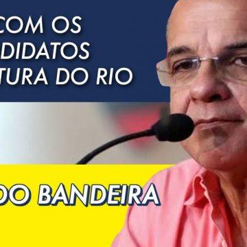 Eduardo Bandeira de Mello, ex-presidente do Flamengo, quer ser prefeito do Rio