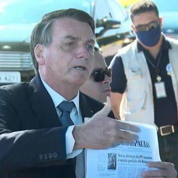 Justiça Federal dá 72 horas para Bolsonaro explicar mudança no comando da PF no Rio de Janeiro