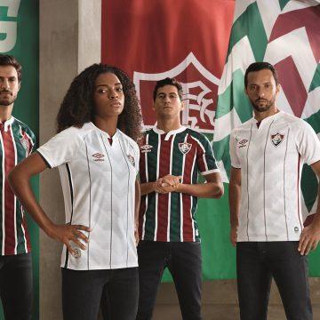 Fluminense apresenta os seus novos uniformes para 2020 em Live com o rapper tricolor Xamã