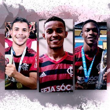 Quem vem por aí: conheça sete promessas da base do Flamengo