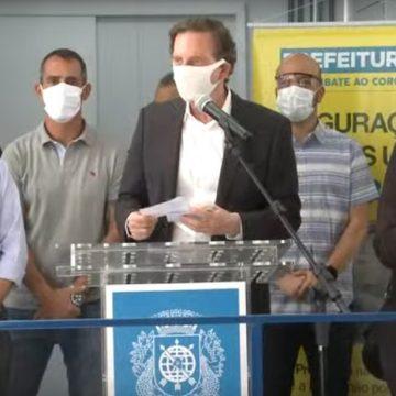 Crivella diz que medidas de isolamento social serão prorrogadas no Rio