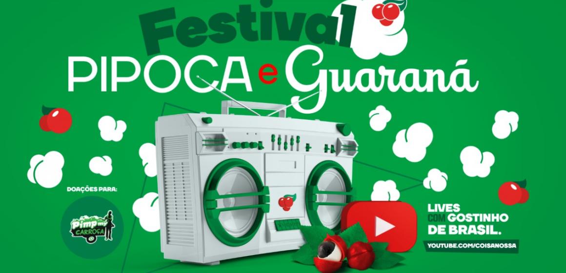 Guaraná Antarctica realiza shows de Péricles, É o Tchan, Babu Santana e Jota Quest neste final de semana