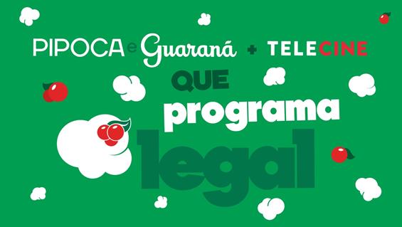 Guaraná Antarctica e Telecine se unem para incentivar as pessoas a ficarem em casa
