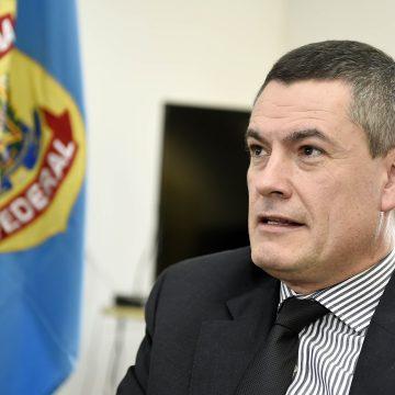 Ex-chefe da PF chega para prestar depoimento em inquérito sobre acusações de Moro a Bolsonaro