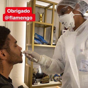 Jogadores do Flamengo, Jorge Jesus e sua comissão técnica realizam testes para Covid-19