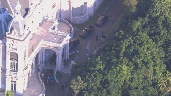 PF faz operação no Palácio Laranjeiras, residência oficial do governador Wilson Witzel