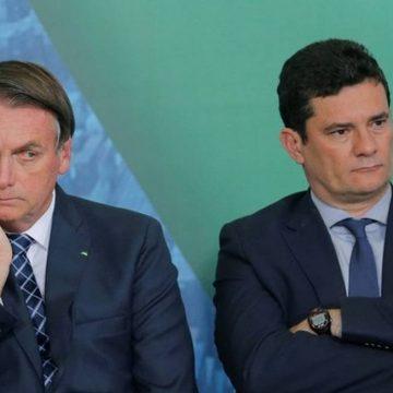 Horas antes de depoimento, Bolsonaro chama Moro de 'Judas'