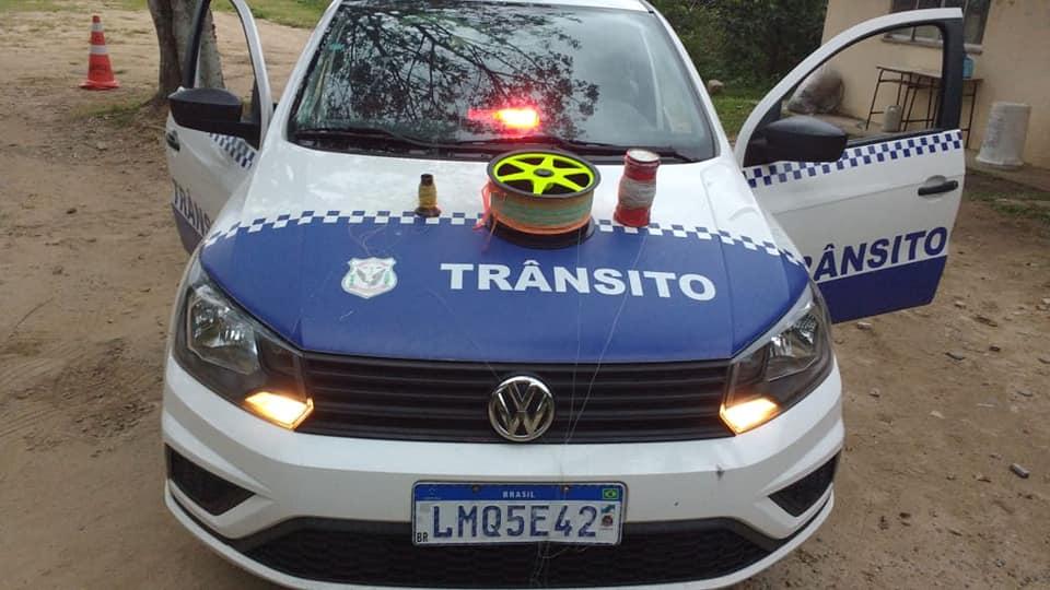 Guarda Municipal de Mangaratiba apreende linhas chilenas