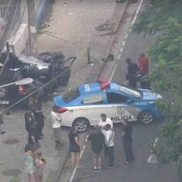 Mulher e criança morrem em grave acidente na Tijuca