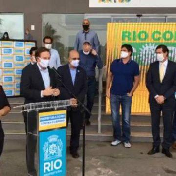 Prefeito Marcelo Crivella anuncia reabertura de shoppings nesta quinta-feira