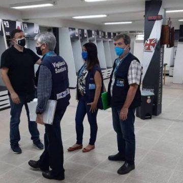 Vigilância Sanitária encontra irregularidades em fiscalização no Vasco, Fluminense e Botafogo