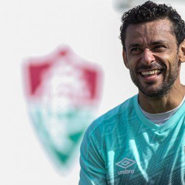 Fred dará entrevista coletiva neste sábado, véspera de sua reestreia pelo Fluminense