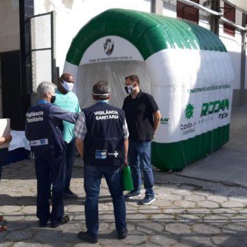 Em nova vistoria, Vigilância Sanitária aprova São Januário e Nilton Santos para jogos deste domingo