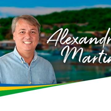 Alexandre Martins defende governo transparente e participativo em Buzios