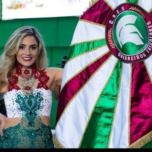 Guerreiros Tricolores tem nova Rainha de Bateria!!!