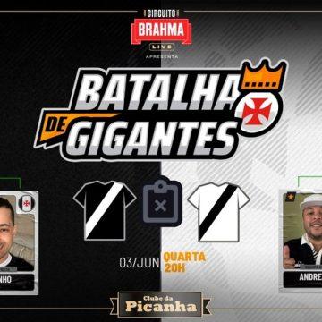 Batalha de Gigantes: Vasco tenta fechar com dois patrocinadores e prevê diversão ao torcedor