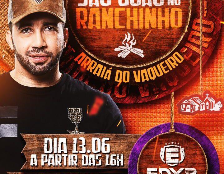 Edyr Vaqueiro promove live solidária para profissionais da área de shows, inspirada em festa junina