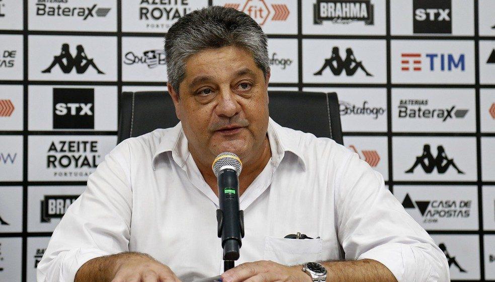 Nomeado VP de futebol, Agostini é é a voz do comitê do Botafogo no contato com atletas e comissão