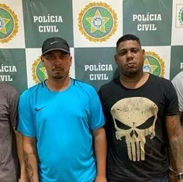 Polícia prende quatro suspeitos de serem traficantes em comunidade da Zona Norte