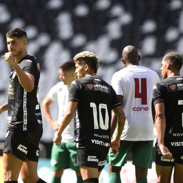 Atuações do Botafogo: ataque rouba a cena, e Luis Henrique é o melhor contra a Cabofriense