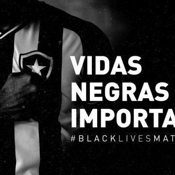 """Botafogo apoia protesto contra racismo e adere à campanha """"Vidas negras importam"""""""
