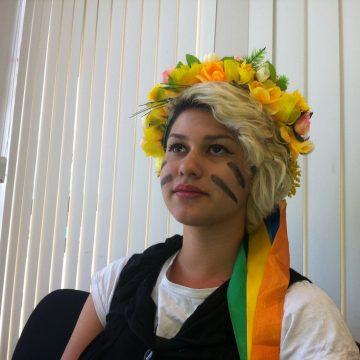 Ativista Sara Winter é presa pela Polícia Federal, em Brasília