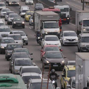 Rio tem engarrafamento de 9 km no início da manhã; últimas semanas não houve registro de congestionamento