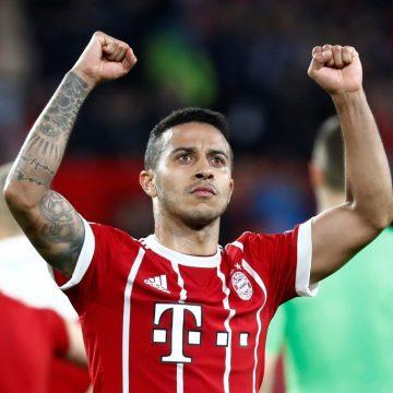 Liverpool chega a acordo com Thiago Alcântara e vai apresentar proposta ao Bayern, afirma jornal