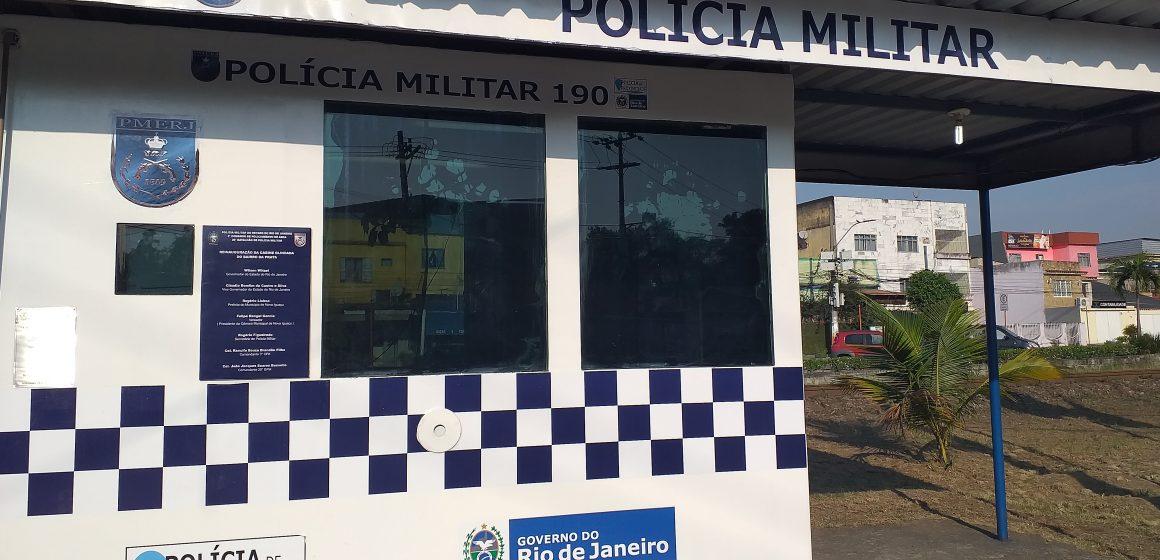 Reinauguração da Cabine Blindada do Bairro da Prata em Nova Iguaçú traz mais segurança.