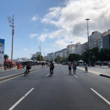 Vias voltam a ser fechadas para áreas de lazer neste domingo no Rio