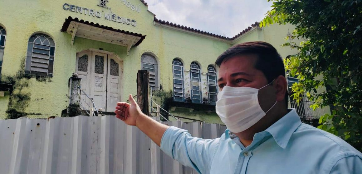 """""""Mais Saude"""":Prefeitura de Nova Iguaçu inicia obra de reforma e ampliação do Hospital de Iguassú"""