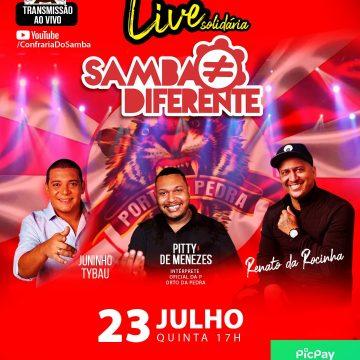 Renato da Rocinha , Pytti Menezes & Juninho Thybau agitam a Live da Porto Pedra