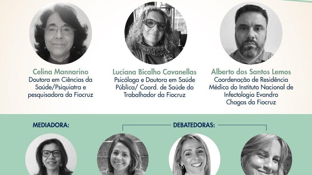 Editora hoje promove live sobre estresse na pandemia com especialistas da Fiocruz