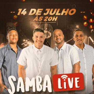 Grupo SambaLive promove live solidária com participações especiais