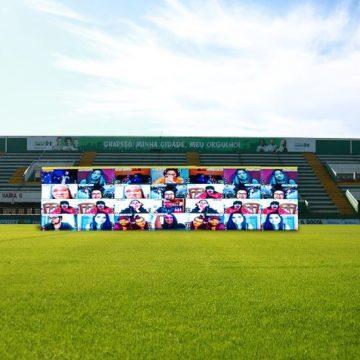 Chape terá torcida interativa contra o Avaí na Arena Condá